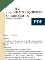 Essential Requisites of ContractsPPT