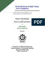 PD measurement in transformer