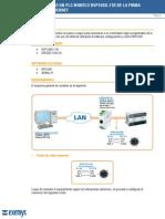 Conecccion Plc Dvp10sx-11r de Deltal Ethernet