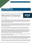 Delincuentes Transnacionales _ El Universal