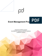 Event Management Proposal