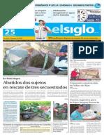 Edición Impresa El Siglo 25-09-2015
