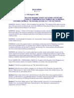 Presidential Decree Providing for Compulsory National Service for Filipino Citizens