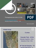 Todas as 24 Imagens Da Linha de Metro Ismai - Trofa