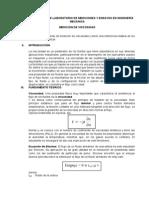 Cuarta Practica de Laboratorio de Mediciones y Ensayos en Ingeniería Mecánica