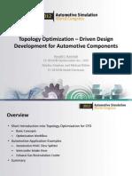 Topology Optimization Driven Fedesign