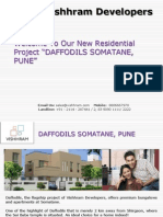 Daffodils Somatane a Dream Residential Project in Pune