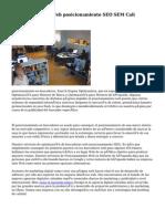 Posicionamiento Web posicionamiento SEO SEM Cali Colombia