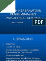 Asuhan Keperawatan Perkembangan Psikososial Dewasa (18-25tahun)