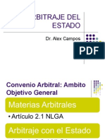 Alex Campos - Arbitraje Con El Estado