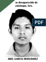 Alumnos Ayotzinapa