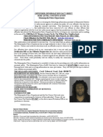 Sex Offender Information Fact Sheet Risk Level