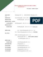 Dosis de Principales Antibioticos Mayo 2015