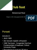 Club Foot Ponseti