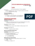 Dosis Medicamentos de Emergencia Mayo 2015