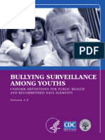BULLYING SURVEILLANCE AMONG YOUTHS
