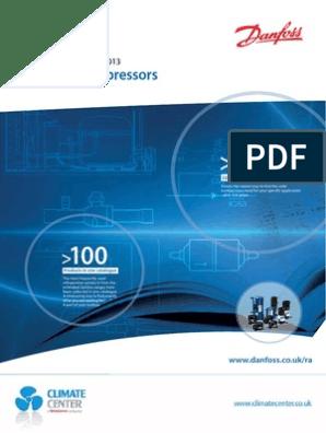 Danfoss Compressors: Quick Selection 2012/2013