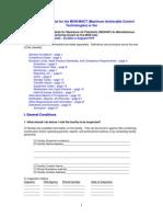 4F - Checklist