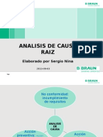 Analisis de Causa Raiz