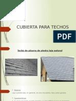 Cubierta Para Techos Ecologica