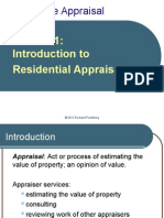Introduction to Residential Appraisal