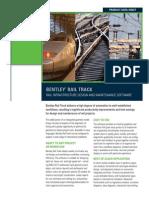 Bentley Rail Track-DataSheet