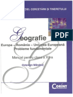 Octavian Mandrut-Geografie Manual Pentru Clasa 12