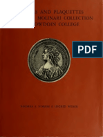 Medals and plaquettes from the Molinari collection at Bowdoin College / by Andrea S. Norris & Ingrid Weber ; with an introd. to the medals catalogue by Graham Pollard