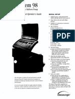 Datascope System 98