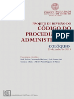 Projeto de Revisão Do Código Do Procedimento Administrativo-2