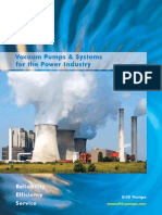 Vacuum Pumps and Systems for Power Industry