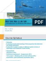 Introduction to Offshore Petroleum Production System