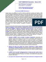 Newsletter SantAmbrogio Test Idraulico