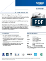 DCP 9020CDW Datasheet