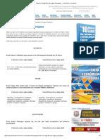 Reforma Ortográfica Da Língua Portuguesa