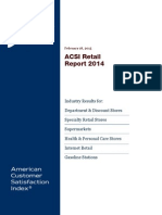 ACSI Retail Report 2014