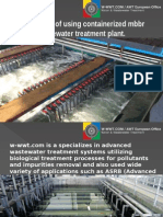 Basic Facts of Using Containerized Mbbr Wastewater Treatment Plant.