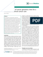 Cancer Genomics Translation Review14