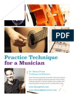 Practice Technique for Musicians