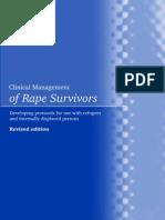 WHO Clinical Management of Rape Survivors-1