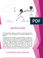Diapositivas Doping en La Esgrima