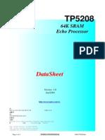 TP5208 64K SRAM Echo Processor
