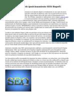 Posicionamiento Web (posicionamiento SEO) Bogotá