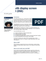 working with display screen equipment 1
