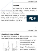 Isostática 2 - Aula 3 - Método Das Seções