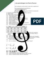 Questionário de Teoria Musical