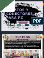 Puertos y Conectores Para PC