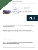 Virtualbox Partage Dossier