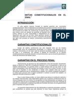 Lectura 3 - Las Garantías Constitucionales en El Proceso Penal