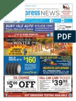 Milwaukee West, North, Wauwatosa, West Allis Express News 10/01/15